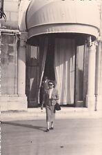 VERA FOTO DI VENEZIA LIDO HOTEL EXCELSIOR 1956 13-3