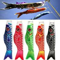 5PC 70cm Japanese Koinobori Wind Sock Carp Fish Streamer Kite Flag Hanging Decor