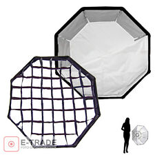 OCTA 95cm + GRID - -F&V Pro softbox For studio and Ourdoor Photography Honeycomb