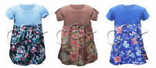 Girls' Floral Short Sleeve Sleeve Tunic T-Shirts & Tops (2-16 Years)