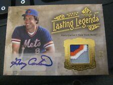 2005 SP Legendary Cuts Lasting Legends Patch Autograph #LL GC Gary Carter #5 ZB0