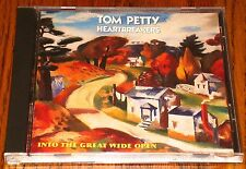 TOM PETTY & THE HEARTBREAKERS INTO THE GREAT WIDE OPEN ORIGINAL CD 1991