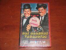 GLI ALLEGRI VAGABONDI di James W. Horne  AVOFILM 3009  VHS NEW