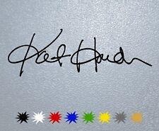 STICKER PEGATINA DECAL VINYL Kate Hudson Signature