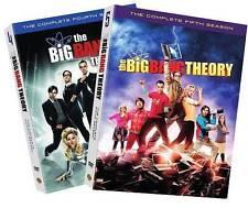 The Big Bang Theory: Season 4 and 5 Blu Ray and DVD (DVD only for 5th season)