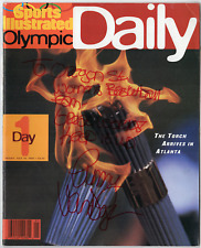 Unknown Olympics signed autographed Sports Illustrated magazine! Authentic!