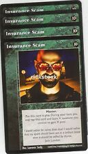 Insurance Scam x4 TAE VTES Jyhad