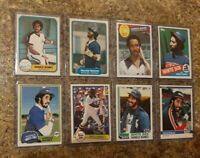 (8) Harold Baines 1981 1982 Topps Fleer Donruss Rookie 2nd Card Lot RC Sox HOF