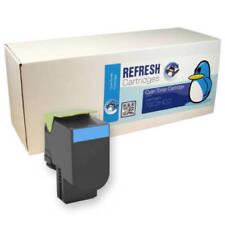 Cartuchos de tóner de impresora cian Para Lexmark sin anuncio de conjunto