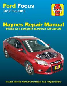 Ford Focus LW 2012-2018 Repair Manual
