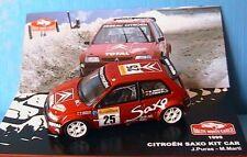 CITROEN SAXO KIT CAR #25 RALLYE MONTE CARLO 1999 PURAS MARTI IXO 1/43 ALTAYA