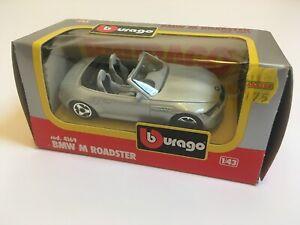 Bburago BMW Z3M Roadster 1/43 Die Cast Model