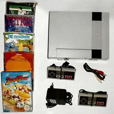 Nintendo NES Konsole ( 5 Spiele OVP ) 2 Controller komplett konvolut