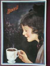 POSTCARD  ADVERT  BOVRIL