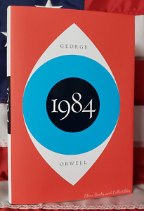 NEW Nineteen Eighty Four 1984 by George Orwell Hardcover with Dustjacket