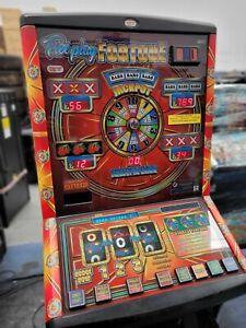 FRUIT MACHINE - FREE PLAY FORTUNE - £100 JACKPOT - NEW £1 READY