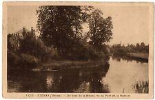 CPA 55 - STENAY (Meuse) - 1012. Un bras de la Meuse, vu du Pont de la Redoute