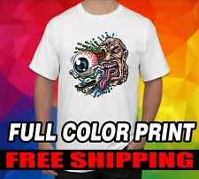Custom Made Personalized T-Shirts Photos on a white shirt Full Color DTG