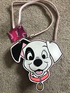 Disney 101 Dalmations Pink Childs Hand Cross Body Bag Long Strap