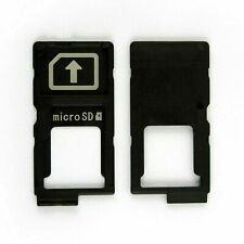 For Sony Xperia Z4, Z5, ZP SIM Tray Holder + Micro SD Card Slot Black UK Seller