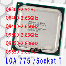 Intel Core 2 Quad Q8300 Q8400 Q9400 Q9500 Q9550 Q9650 LGA 775 Socket T CPU