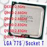 Intel Core 2 Quad Q8300 Q8400 Q9400 Q9500 Q9550 Q9650 LGA 775 Socket T CPU