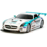 New Tamiya Mercedes Petronas SLS AMG GT3 Body Parts For Most 1/10 TT02/TT01/TL01