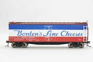 HO Branchline Trains RTR Borden Wood-Side Ice-Bunker Refrigerator Car Super Dtl