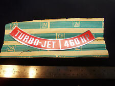 NOS LS7 1970 Corvette 454 Turbo-Jet 460HP Air Cleaner Decal Sticker Chevy
