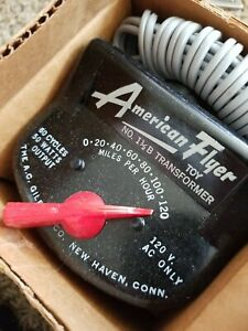 American Flyer Transformer 1-1/2B NEW NOS in Original Box.