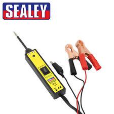Sealey Sonda COCHE PLUS LUZ 6-24v eléctrico mecánico Positivo Negativo Probador