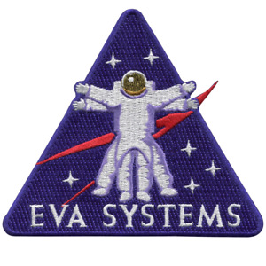 NASA EVA Systems (Extra Vehicular Activity) Human Performance Embroidered Patch