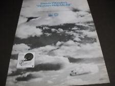 Stevie Wonder sings Heaven Help Us All original 1970 Promo Poster Ad mint