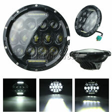 7 Inch Motorcycle Projector Daymaker Headlight LED Light Bulb Fit Harley Touring