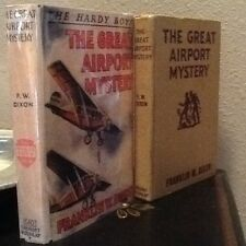 REPRODUCTIONS OF HARDY BOYS WHITE SPINE DUST JACKETS WITH MYLAR - ONLY $5.99