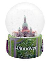 Schneekugel Hannover Rathaus,Marktkirche,Messe,Snowglobe Germany Souvenir