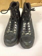 Harley Davidson HD 91610 Mens Size 10 Dipstick Black Leather Biker Boots (b44)