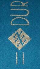 DURAN DURAN Official 1983/4 Tour Teal / Green Soft Wool Concert Scarf GIFT IDEA