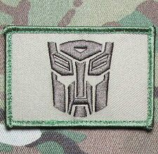AUTOBOT TRANSFORMERS USA  ARMY MULTICAM VELCRO® BRAND FASTENER MORALE PATCH