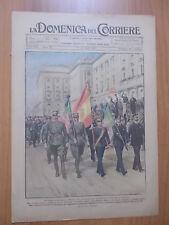DOMENICA del CORRIERE 16/1921 Torino: il disastro di Corso Vercelli, Dirigibili