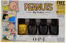 OPI Peanuts Collection 4pc Mini Nail Polish Boxed Set #SRFA9 FAST, FREE SHIPPING
