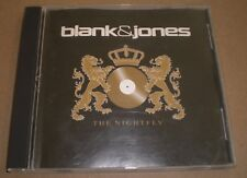 The Nightfly Blank & Jones~2001 Progressive House Trance CD Single~FAST SHIPPING