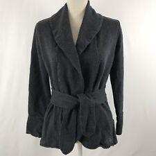 The North Face Woman's Fleece Jacket Coat Size M Dark Gray