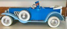 1982 Knickerbocker Little Orphan Annie 1929 Duesenberg model toy car plastic