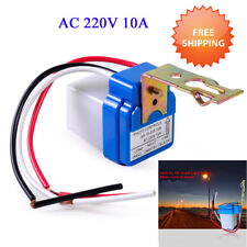 Automatic On Off Street Light Switch Photo Control Sensor for AC/DC 12/220V EW~