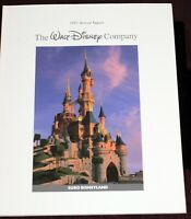 Walt Disney Annual Report 1991 Euro Disney Disneyland Paris Newsies Photos