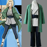 BNaruto Anime Tsunade Cosplay Costume Halloween Cos Clothes NEW