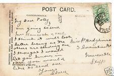 Genealogy Postcard - Family History - Hodgkinson - Newcastle - Staffs BT926