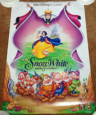 "Walt Disney Snow White And The Seven Dwarfs One Sheet Movie Poster 27"" x 40"""