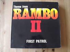 """12"""" - FIRST PATROL-Theme from RAMBO II - 6:05 -"""